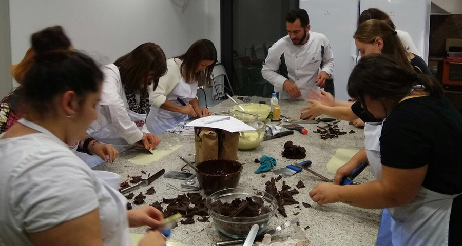 Estudio chocolate