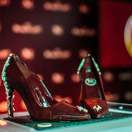 zapatos chocolate magnum
