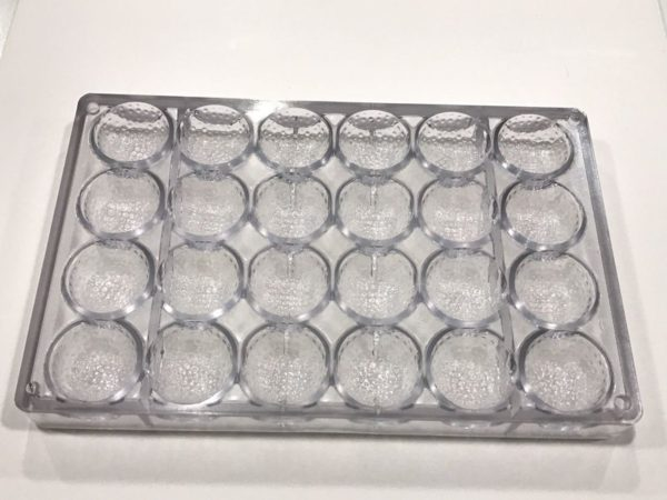 Bola de Golf en policarbonato para bombones
