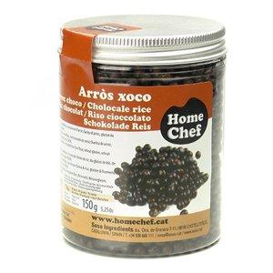 Bolitas de Arroz recubiertas de Chocolate Negro
