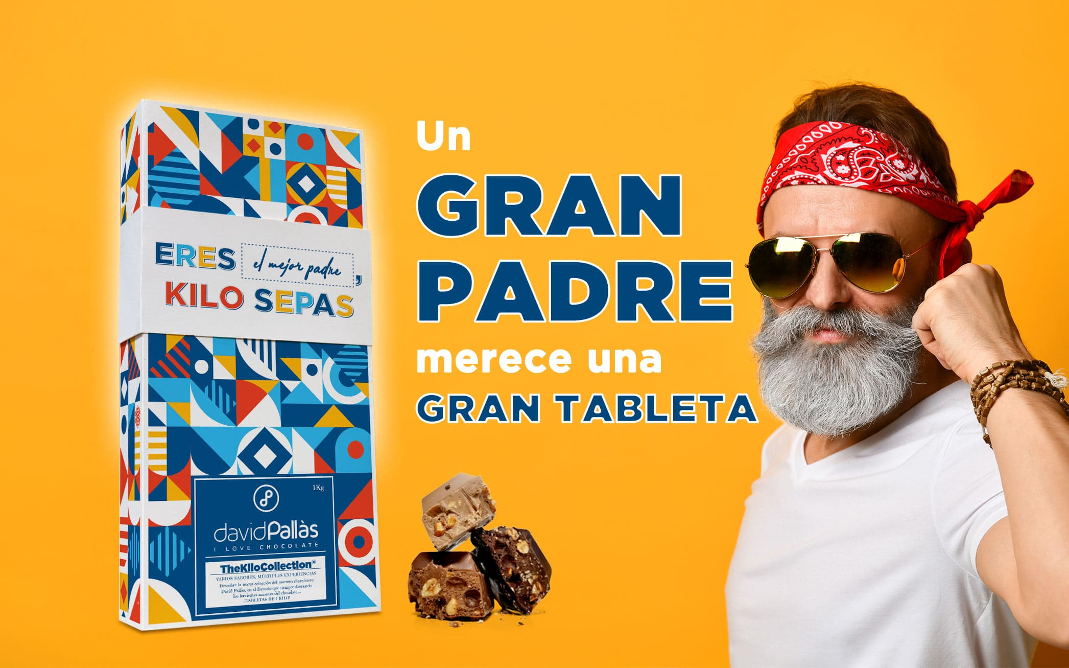 regalar chocolate dia padre